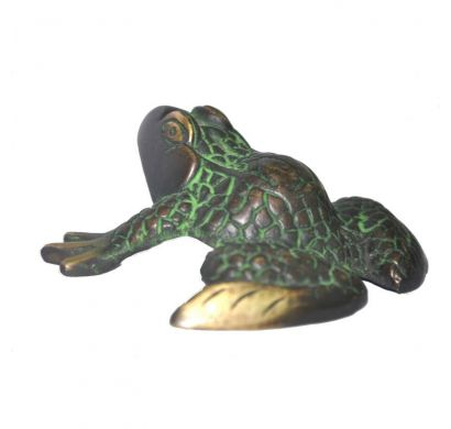 Curves & Carvings Leaping Frog - ART00096