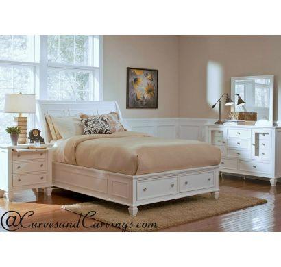Curves & Carvings Bedroom Set- BED0202