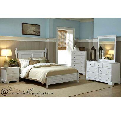 Curves & Carvings Bedroom Set- BED0215