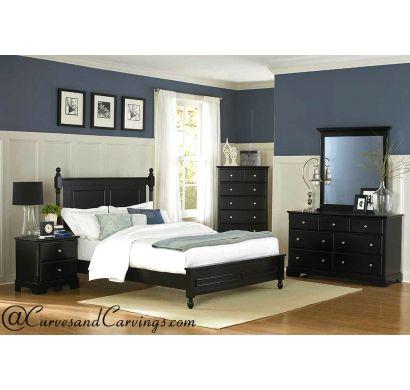 Curves & Carvings Bedroom Set- BED0216