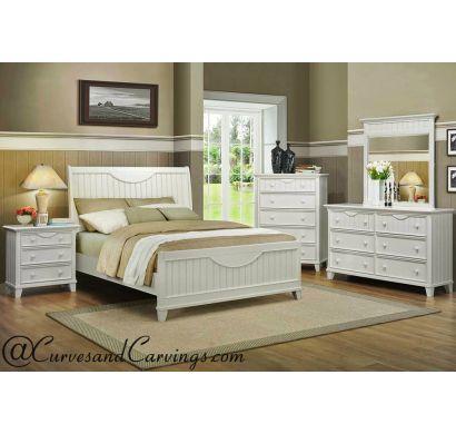 Curves & Carvings Bedroom Set- BED0217