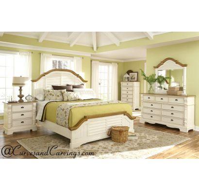 Curves & Carvings Bedroom Set- BED0229