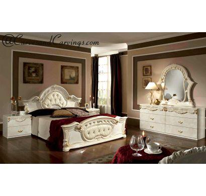 Curves & Carvings Bedroom Set- BED0231