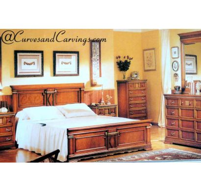 Curves & Carvings Premium Collection Bed - C&C BED0073