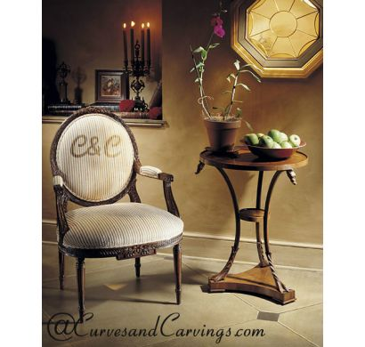 Curves & Carvings Signature Collection Chair - C&C CHAIR0028