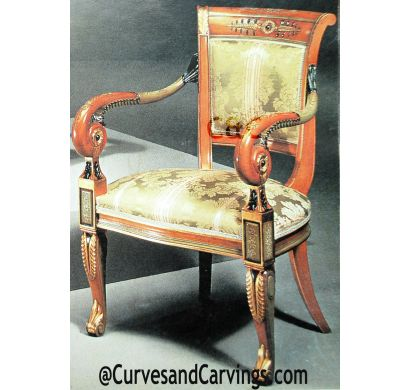 Curves & Carvings Classic Collection Chair - C&C CHAIR0064