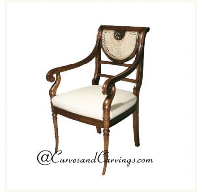 Curves & Carvings Premium Collection Chair - C&C CHAIR0088