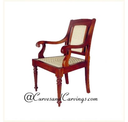 Curves & Carvings Premium Collection Chair - C&C CHAIR0092