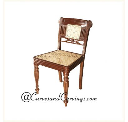 Curves & Carvings Premium Collection Chair - C&C CHAIR0095