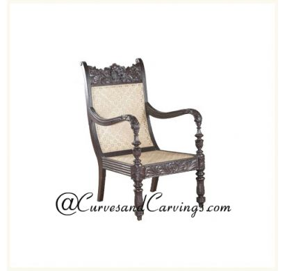 Curves & Carvings Premium Collection Chair - C&C CHAIR0096