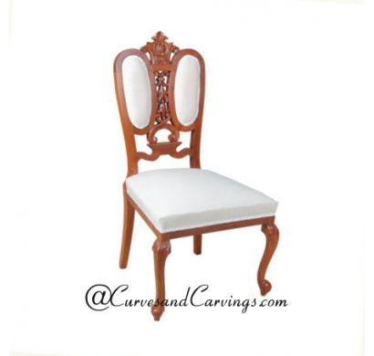 Curves & Carvings Classic Collection Chair - C&C CHAIR0097