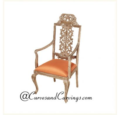 Curves & Carvings Classic Collection Chair - C&C CHAIR0100