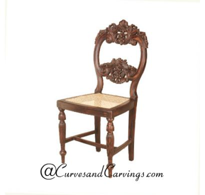 Curves & Carvings Premium Collection Chair - C&C CHAIR0103
