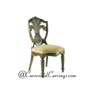 Curves & Carvings Signature Collection Chair - C&C CHAIR0122