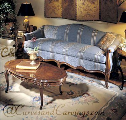 Curves & Carvings Premium Collection Sofa - C&C SOF0006