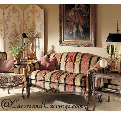 Curves & Carvings Premium Collection Sofa - C&C SOF0008
