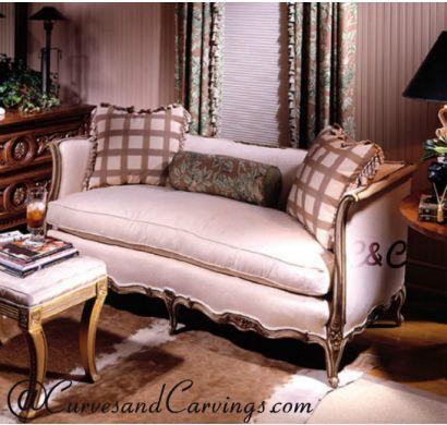 Curves & Carvings Premium Collection Sofa - C&C SOF0012