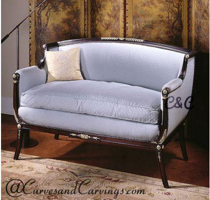 Curves & Carvings Premium Collection Sofa - C&C SOF0014