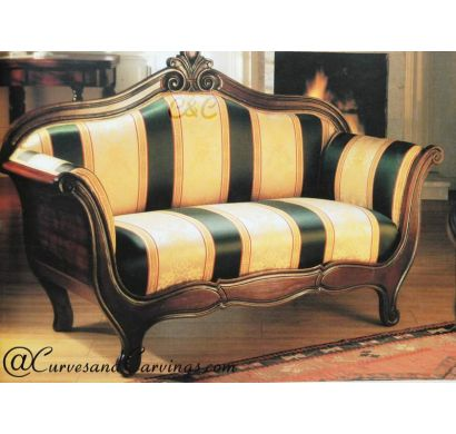 Curves & Carvings Signature Collection Sofa - C&C SOF0041