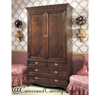 Curves & Carvings Premium Collection Wardrobe - C&C WAR0010