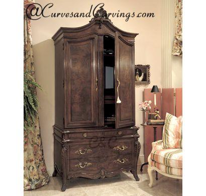 Curves & Carvings Premium Collection Wardrobe - C&C WAR0015