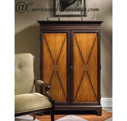 Curves & Carvings Premium Collection Wardrobe - C&C WAR0017