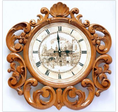 Curves & Carvings Signature Collection Wall Clock- C&C WC0001
